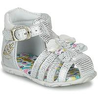 Παπούτσια Κορίτσι Σανδάλια / Πέδιλα Catimini CYGNE Silver