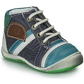 Παπούτσια Αγόρι Μπότες Catimini CIGOGNE Μπλέ / Green