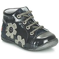 Παπούτσια Κορίτσι Ψηλά Sneakers GBB NEIGE Marine / Silver