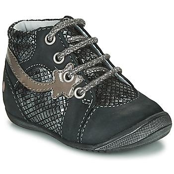 Παπούτσια Κορίτσι Μπότες GBB NOEMIE Black / Silver