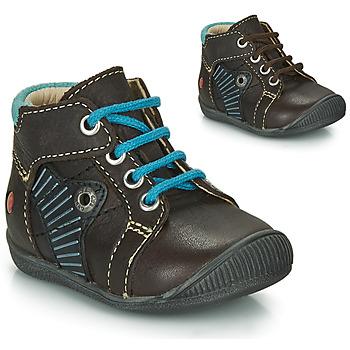 Παπούτσια Αγόρι Μπότες GBB NATALE Brown / Μπλέ