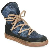 Παπούτσια Κορίτσι Μπότες για την πόλη Achile ANGELA Μπλέ / Black