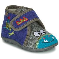 Παπούτσια Αγόρι Παντόφλες GBB NASTRIANO Μπλέ / Grey