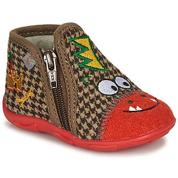 Παπούτσια Αγόρι Παντόφλες GBB NEREO Red / Brown