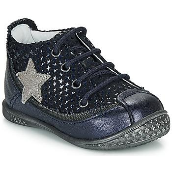 Παπούτσια Κορίτσι Μπότες Ikks SYDNEY Marine / Silver