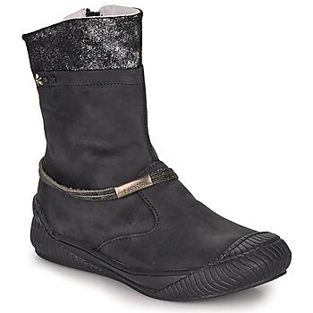 Παπούτσια Κορίτσι Μπότες Ikks HILLARY Black