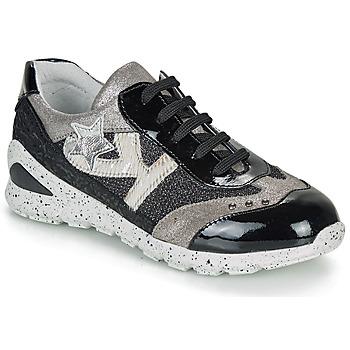 Παπούτσια Κορίτσι Χαμηλά Sneakers Ikks FIONA Black / Silver