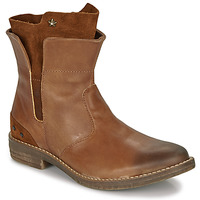 Παπούτσια Κορίτσι Μπότες Ikks PAMELA Cognac