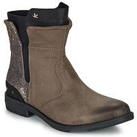 Παπούτσια Κορίτσι Μπότες Ikks PAMELA Taupe / Dore