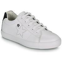 Παπούτσια Κορίτσι Χαμηλά Sneakers Ikks MOLLY Άσπρο / Black