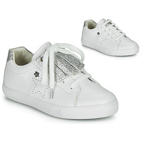 Παπούτσια Κορίτσι Χαμηλά Sneakers Ikks MOLLY Άσπρο / Silver