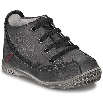 Παπούτσια Αγόρι Μπότες Ikks STEVEN Anthracite