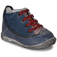Παπούτσια Αγόρι Μπότες Ikks STEVEN Marine / Red