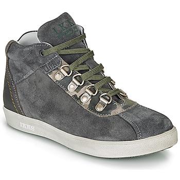Παπούτσια Αγόρι Μπότες Ikks ISAAC Grey / Kaki