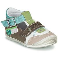 Παπούτσια Αγόρι Σανδάλια / Πέδιλα GBB PAUL Brown / Green / Μπλέ