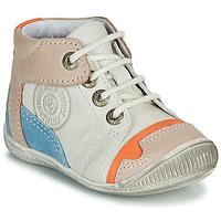 Παπούτσια Αγόρι Μπότες GBB PAOLO Άσπρο / Beige / Μπλέ