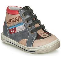 Παπούτσια Αγόρι Ψηλά Sneakers GBB PARIS Grey / Beige