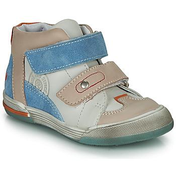 Παπούτσια Αγόρι Ψηλά Sneakers GBB PATRICK Grey / Μπλέ