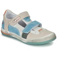 Παπούτσια Αγόρι Σανδάλια / Πέδιλα GBB PRINCE Ecru / Beige / Μπλέ