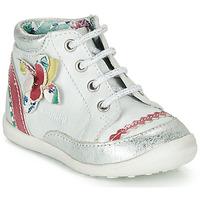 Παπούτσια Κορίτσι Μπότες Catimini POUSSIN Άσπρο