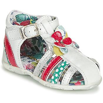 Παπούτσια Κορίτσι Σανδάλια / Πέδιλα Catimini PERSAN Άσπρο / Multicolour