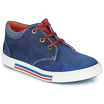 Παπούτσια Αγόρι Χαμηλά Sneakers Catimini PALETTE Μπλέ / Red