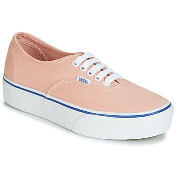 Παπούτσια Γυναίκα Χαμηλά Sneakers Vans AUTHENTIC PLATFORM 2.0 Ροζ