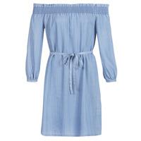 Υφασμάτινα Γυναίκα Κοντά Φορέματα Only ONLSAMANTHA Μπλέ /  clair