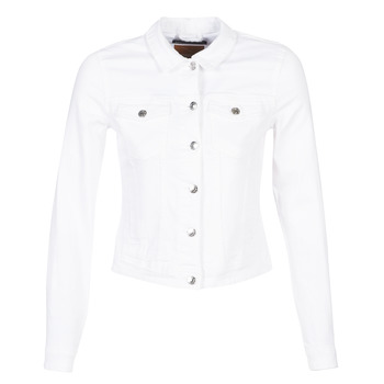 4a8b7ebab12d Υφασμάτινα Γυναίκα Τζιν Μπουφάν Jacket Only ONLTIA Άσπρο