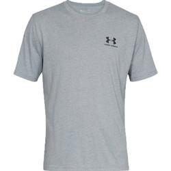 Υφασμάτινα Άνδρας T-shirt με κοντά μανίκια Under Armour Sportstyle Left Chest Tee Grise