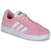 Παπούτσια Παιδί Χαμηλά Sneakers adidas Originals VL COURT K ROSE Ροζ