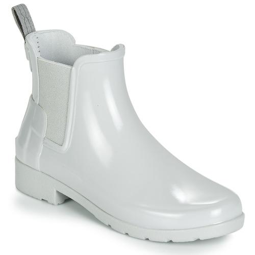 Παπούτσια Γυναίκα Μπότες βροχής Hunter ORIGINAL KIDS Grey