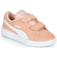Παπούτσια Κορίτσι Χαμηλά Sneakers Puma SMASH PSV PEACH Corail