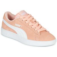 Παπούτσια Κορίτσι Χαμηλά Sneakers Puma SMASH V2JR PEAC Corail