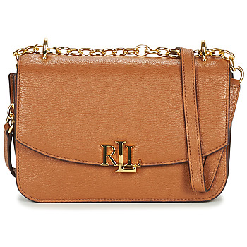 Τσάντες Γυναίκα Τσάντες ώμου Lauren Ralph Lauren ELMSWOOD MADISON CROSSBODY MEDIUM Cognac