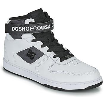Παπούτσια Άνδρας Ψηλά Sneakers DC Shoes PENSFORD SE Άσπρο / Black