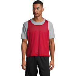 Υφασμάτινα Αμάνικα / T-shirts χωρίς μανίκια Sols ANFIELD SPORTS Rojo