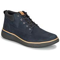 Παπούτσια Άνδρας Ψηλά Sneakers Timberland CROSS MARK PT CHUKKA Μπλέ