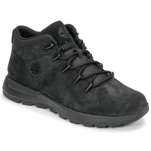 Παπούτσια Άνδρας Μπότες Timberland EURO SPRINT TREKKER Black
