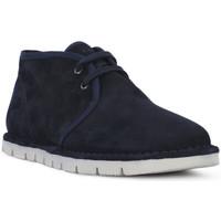 Παπούτσια Άνδρας Μπότες Frau SUEDE BLU Blu