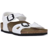 Παπούτσια Αγόρι Σανδάλια / Πέδιλα Birkenstock RIO WHITE Bianco