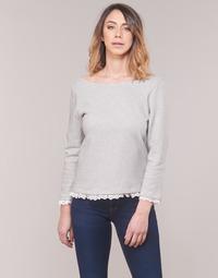 Υφασμάτινα Γυναίκα Μπλουζάκια με μακριά μανίκια Betty London KARA Άσπρο / Marine