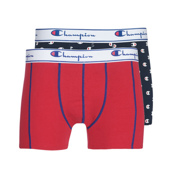 Εσώρουχα Άνδρας Boxer Champion MIX UNI + IMPRIME X2 Black / Red
