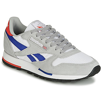 Παπούτσια Χαμηλά Sneakers Reebok Classic CL LEATHER MU Grey / Μπλέ