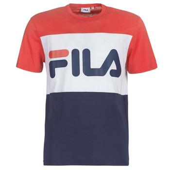 Υφασμάτινα Άνδρας T-shirt με κοντά μανίκια Fila DAY TEE Marine / Red / Άσπρο