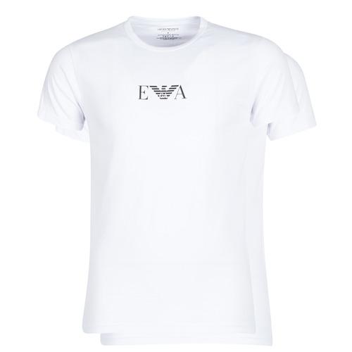 Υφασμάτινα Άνδρας T-shirt με κοντά μανίκια Emporio Armani CC715-111267-04712 Άσπρο