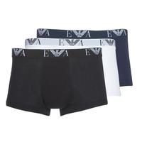 Εσώρουχα Άνδρας Boxer Emporio Armani CC715-111357-56110 Άσπρο / Black / Marine