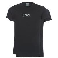 Υφασμάτινα Άνδρας T-shirt με κοντά μανίκια Emporio Armani CC715-111267-07320 Black