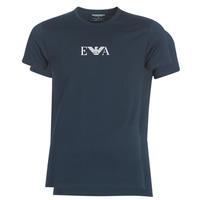 Υφασμάτινα Άνδρας T-shirt με κοντά μανίκια Emporio Armani CC715-111267-27435 Marine