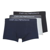 Εσώρουχα Άνδρας Boxer Emporio Armani CC722-111610-94235 Marine / Grey / Black
